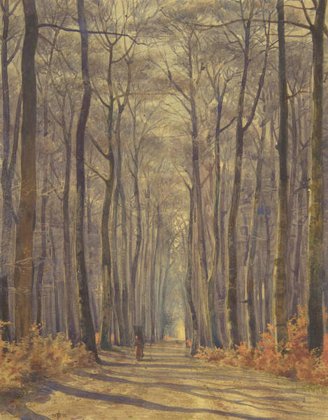 Wall Art - Painting - An Alee In The Woods by Sir Edward John Poynter