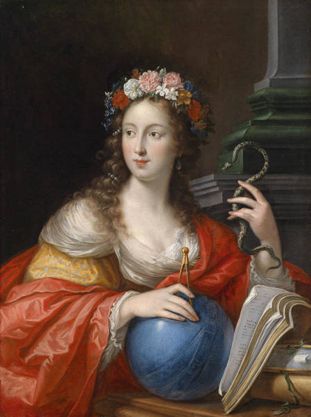 Cesare Painting - An Allegory Of Intelligence by Cesare Dandini