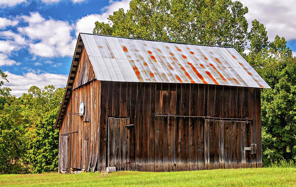 Steve Harrington Wall Art - Photograph - An American Barn 2 by Steve Harrington