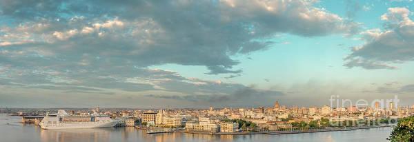 Wall Art - Photograph - Panoramic View Of Havana Skyline by Viktor Birkus