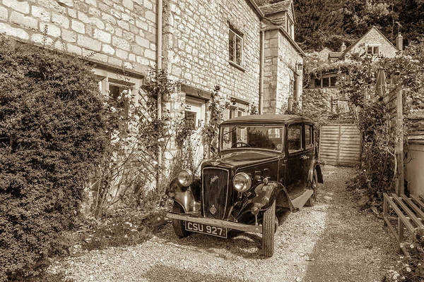 Wall Art - Photograph - An Antique Austin by W Chris Fooshee