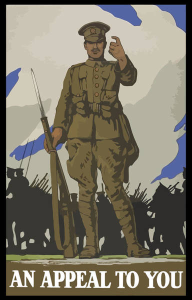 Propaganda Painting - An Appeal To You by War Is Hell Store