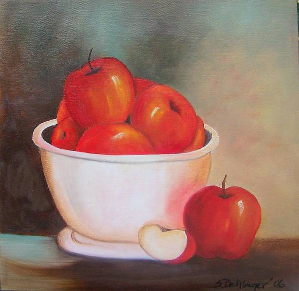 Painting - An Apple A Day by Susan Dehlinger