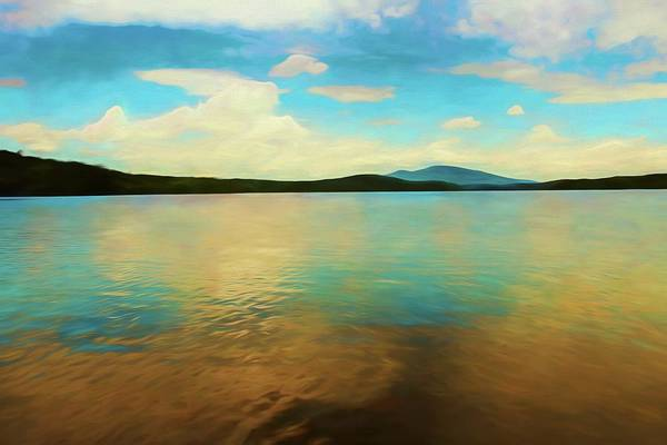 Photograph - An Artistic View Of Somerset Reservoir In Southern Vermont by Rusty R Smith
