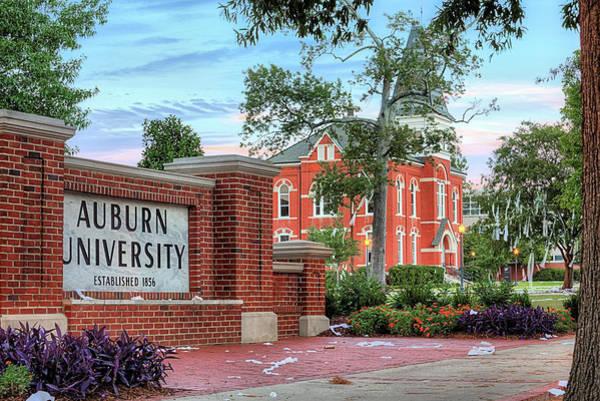 Toomer Wall Art - Photograph - An Auburn University Sunday Morning by JC Findley