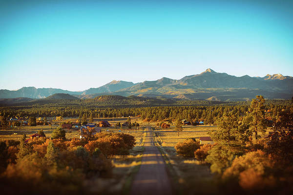 Photograph - An Autumn Evening In Pagosa Meadows by Jason Coward