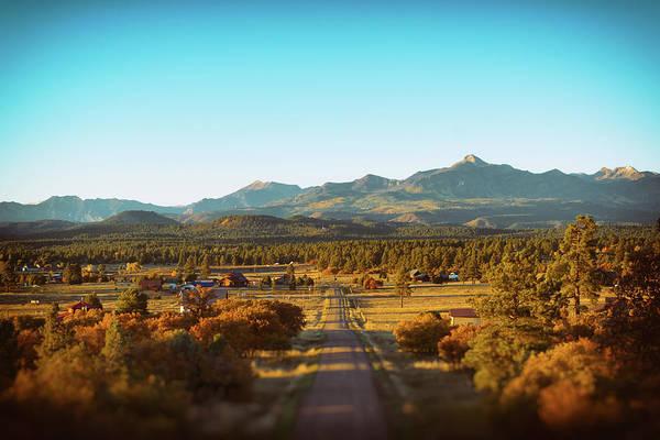 An Autumn Evening In Pagosa Meadows Art Print