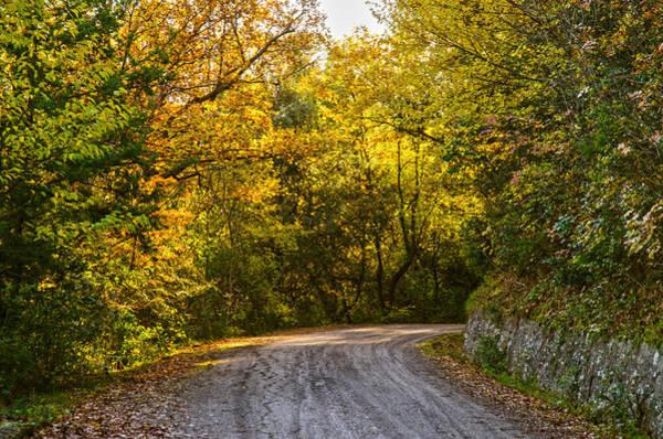 An Autumn Landscape - Hdr 2  Art Print