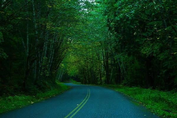 Wall Art - Photograph - An Autumn Road by Jeff Swan
