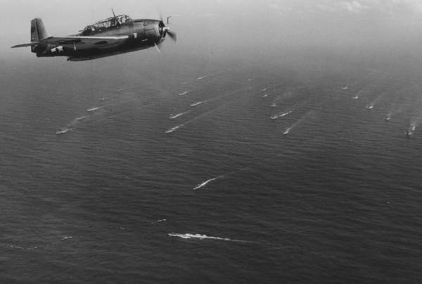 Sea Plane Photograph - An Avenger Aircraft On Patrol  by American School