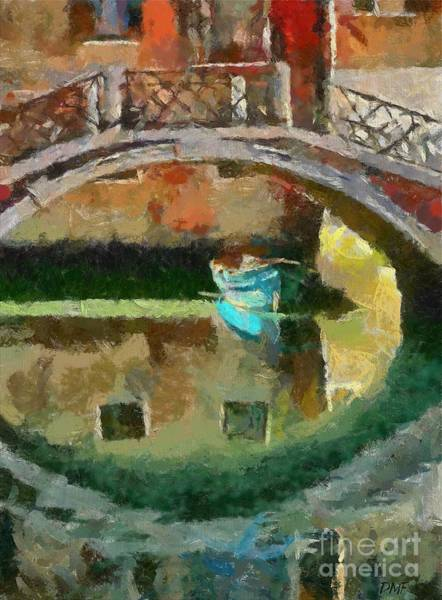 Wall Art - Painting - An Early Morning In Venice by Dragica  Micki Fortuna