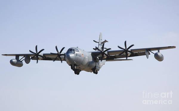 C 130 Photograph - An Ec-130j Commando Solo Aircraft by Stocktrek Images