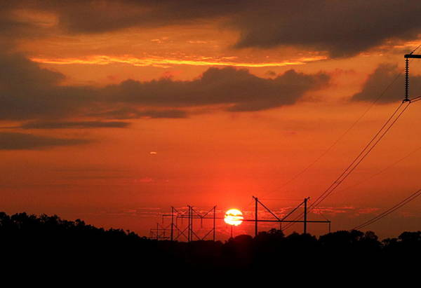 Photograph - An Electric Sunrise by Sheila Brown