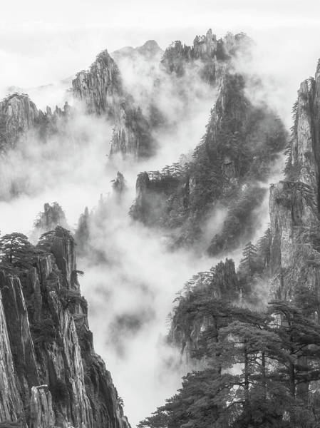 Photograph - Mountains In The Clouds. by Usha Peddamatham