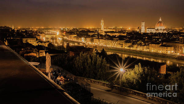 Photograph - An Evening In Florence by Fabrizio Malisan