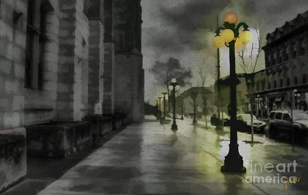 Page Mixed Media - An Evening In Paris by Jim Hatch