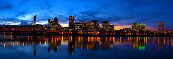 Portland Photograph - An Evening In Portland by Brian Bonham
