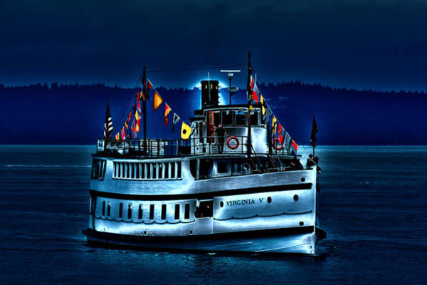 Photograph - An Evening On The Virginia V by David Patterson