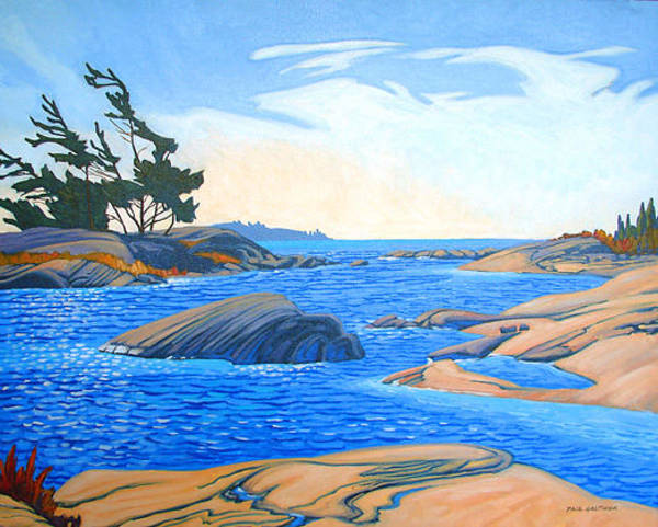 Wall Art - Painting - An Excelent Day On The Bay by Paul Gauthier