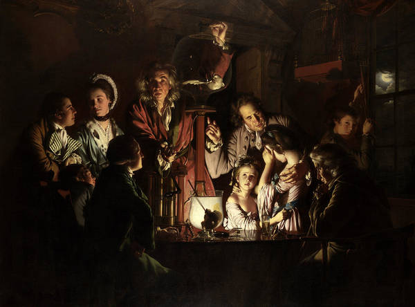 Painting - An Experiment On A Bird In An Air Pump  by Joseph Wright