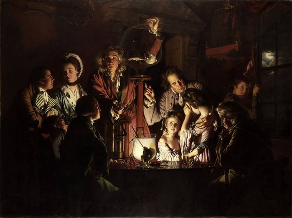 Experiment Painting - An Experiment On A Bird In The Air Pump, By Joseph Wright Of Derby by Celestial Images