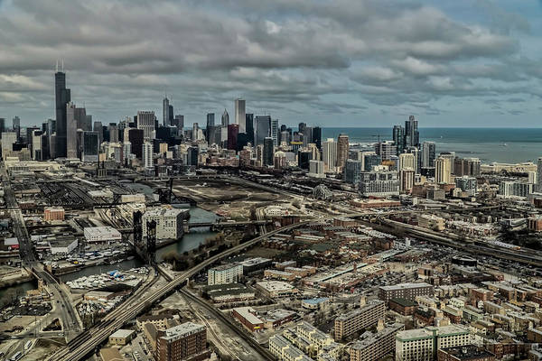 Photograph - An Eye From The Sky Of Chicago  by Sven Brogren