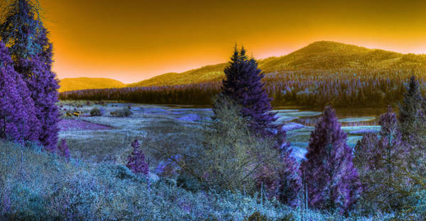 Photograph - An Idaho Fantasy 1 by Lee Santa