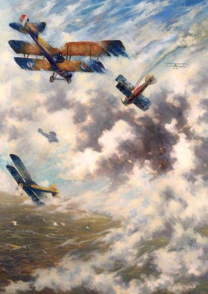I Dream Painting - An Incident On The Western Front by Mountain Dreams