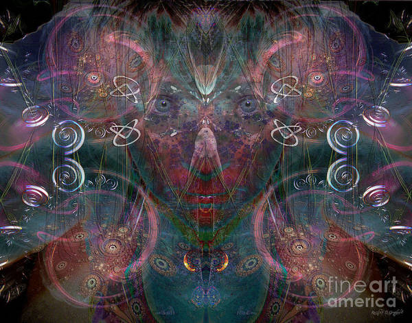 Digital Art - Infinite Correlation by Rhonda Strickland