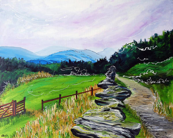 Windermere Painting - An Invitation by Laura Hol Art