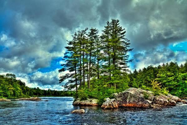 An Island On The Moose River Art Print
