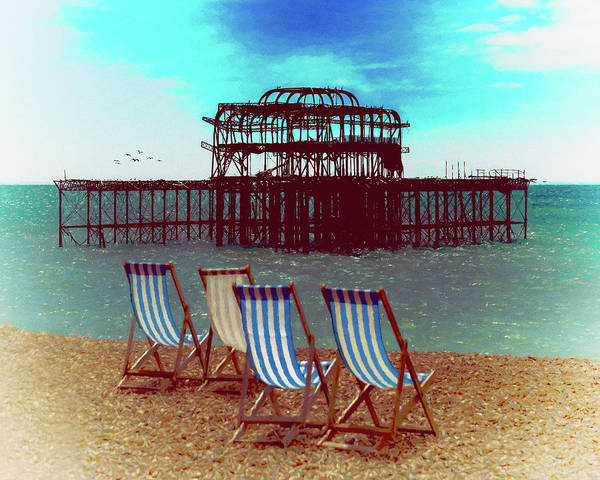 Photograph - An Ode To Brighton by Chris Lord
