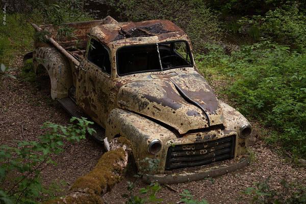 Photograph - An Old Car by Alexander Fedin