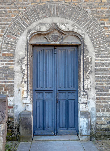 Maison Photograph - An Old Church Door by W Chris Fooshee