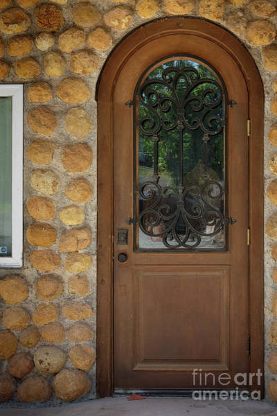 Photograph - An Old Door by Richard Smith