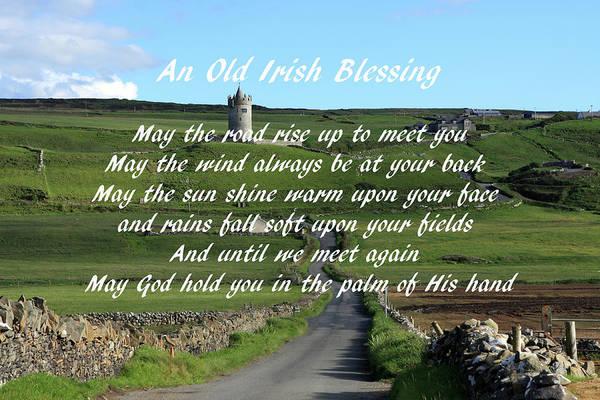 Photograph - An Old Irish Blessing #6 by Aidan Moran