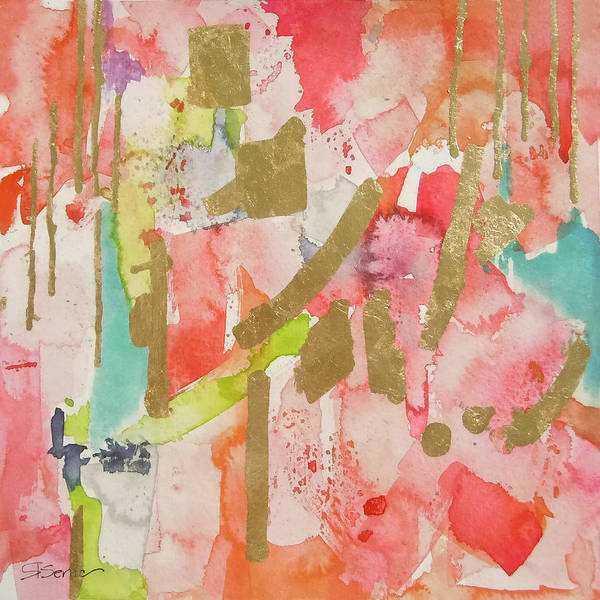 Contemporary Painting - An Old Sweet Song by Roleen Senic