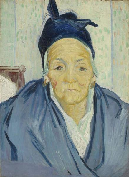 Painting - An Old Woman Of Arles Arles  February 1888 Vincent Van Gogh  1853   1890 by Artistic Panda