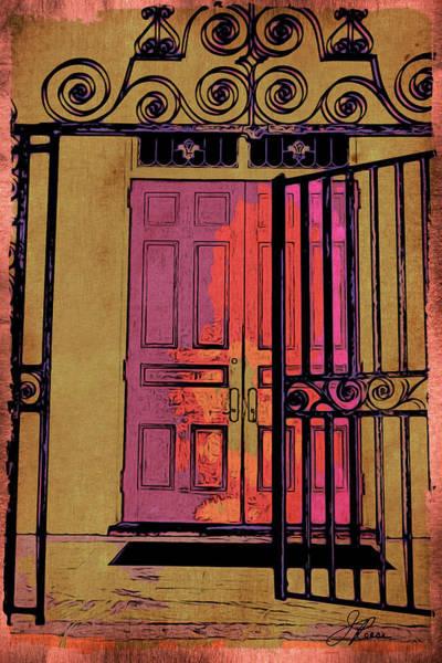 An Open Gate Art Print