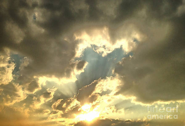 Cloudscape Photograph - Vision Of Love by Krissy Katsimbras