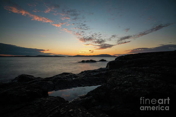 Whistler Photograph - Anacortes Tidepool Sky Window by Mike Reid