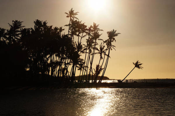 Photograph - Anaehoomalu Bay Sunset by Pamela Walton