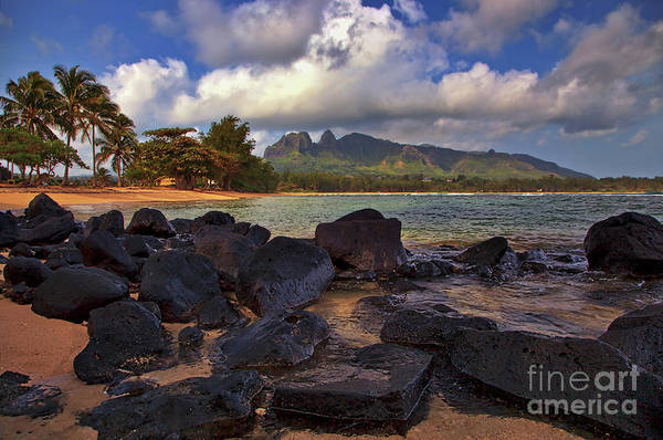 Photograph - Anahola Beach Park On The Island Of Kauai, Hawaii by Sam Antonio Photography