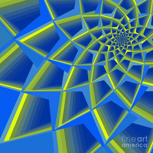 Wall Art - Photograph - Analogous Spiral Abstract by Mary Machare