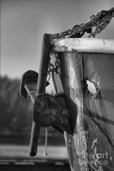 Photograph - Anchor At The Dock by Adam Jewell