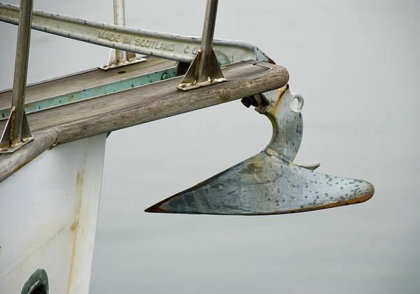 Sailboat Anchor Art Print