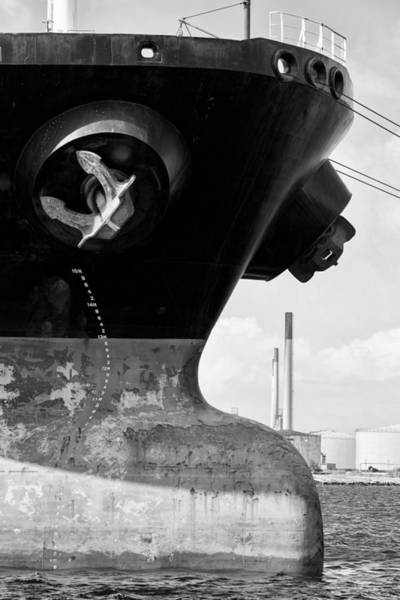 Photograph - Anchor Of A Tanker by For Ninety One Days