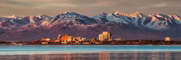 Alaskan Photograph - Anchorage by Ed Boudreau