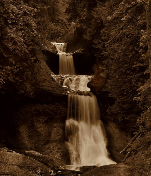 Ivanhoe Photograph - Anciant Falls by Todd Sarah Ivanhoe