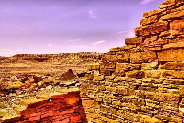Land Of Enchantment Photograph - Ancient Adobe In The Canyon by Jeff Swan